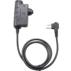 Earmor - PTT Militär Standardversion MOTOROLA 2 pin